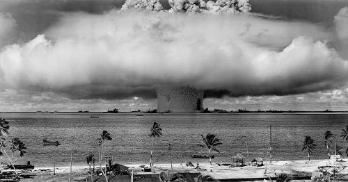 Underwater Baker nuclear explosion of July 25, 1946