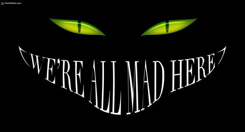 Alice-In-Wonderland-Smile-Cheshire-Cat-Black-Mad-Eyes-Dark-Halloween-Desktop-Images