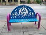 http://commons.wikimedia.org/wiki/File:Coventry_Peace_Bench.jpg