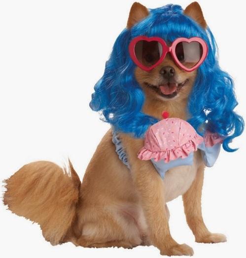 Cupcake Girl Pet Costume