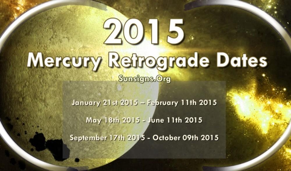 Mercury Retrograde (1/3)