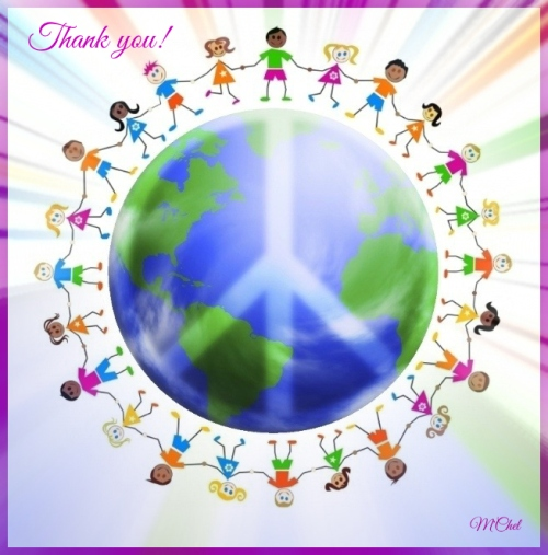 Thank you friends and followers