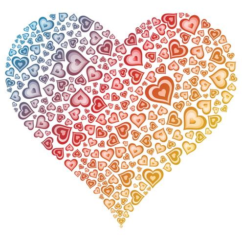 Vector-Valentine-Heart-of-Hearts-10-by-DragonArt