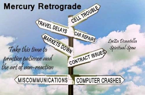 Mercury Retrograde 2014 - 2015