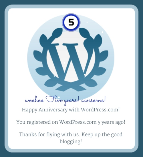 5 year anni wp woot