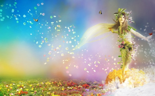 ws_Spring_goddess_1280x800