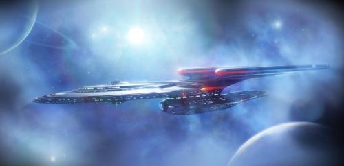 Star Trek Ships of the Line 2016 calendar Shawn Weixelman Enterprise-F