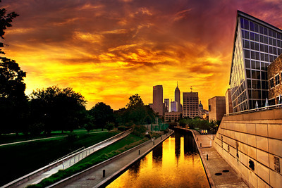 Indy Canal Sunrise-S