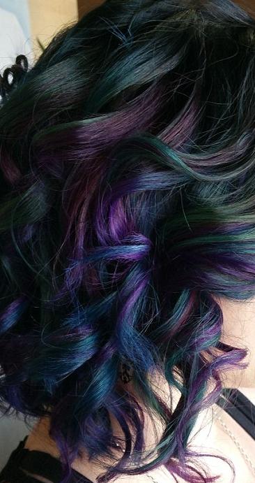 oilslickhaircolourcolortrend